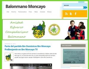 imagen de blog de balonmano moncayo